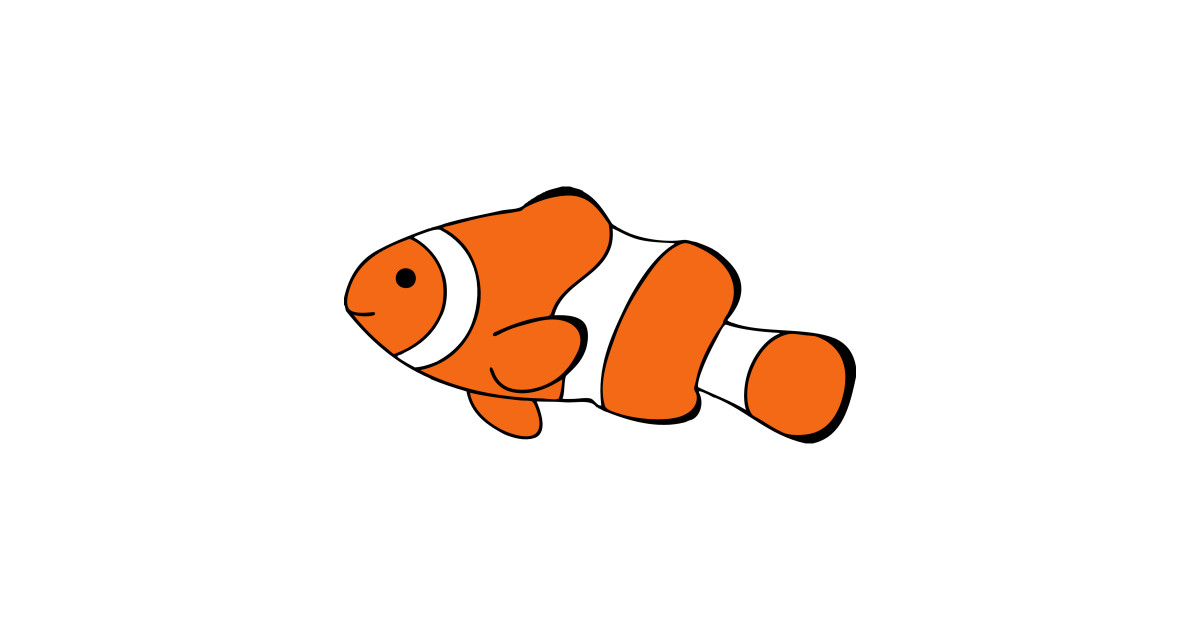 Clownfish Drawing Clownfish T Shirt Teepublic