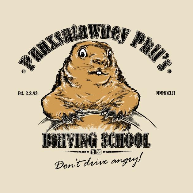 Punxsutawney Phil's Driving School