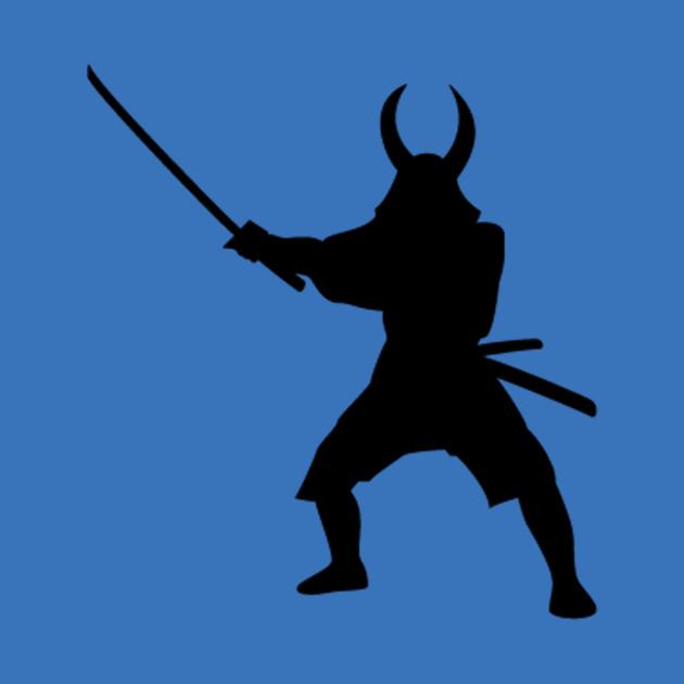 Samurai Empire Warrior Silhouette