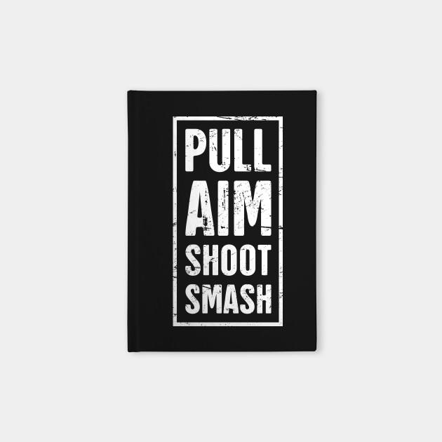 Distressed Skeet Shooting Design