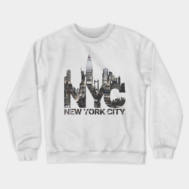New York Times Square Gray Crewneck Sweatshirt