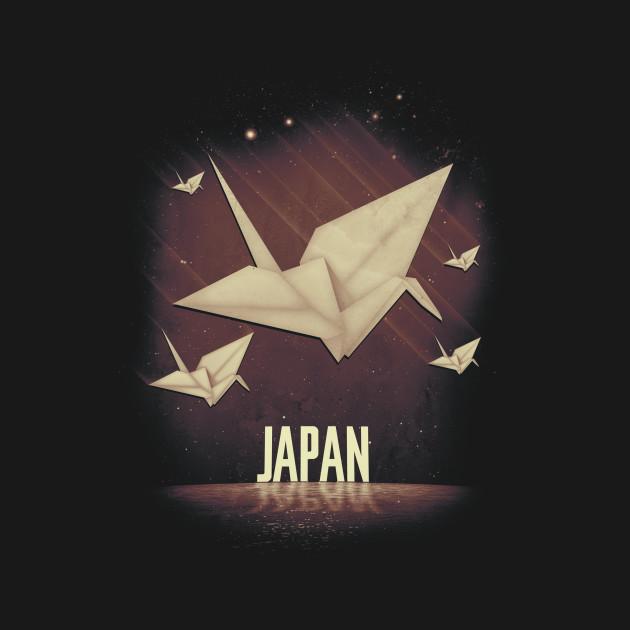 1000 Cranes In Japan T-Shirt