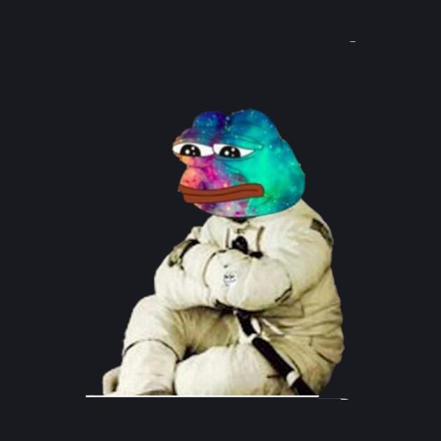 Galaxy Pepe Hoodie