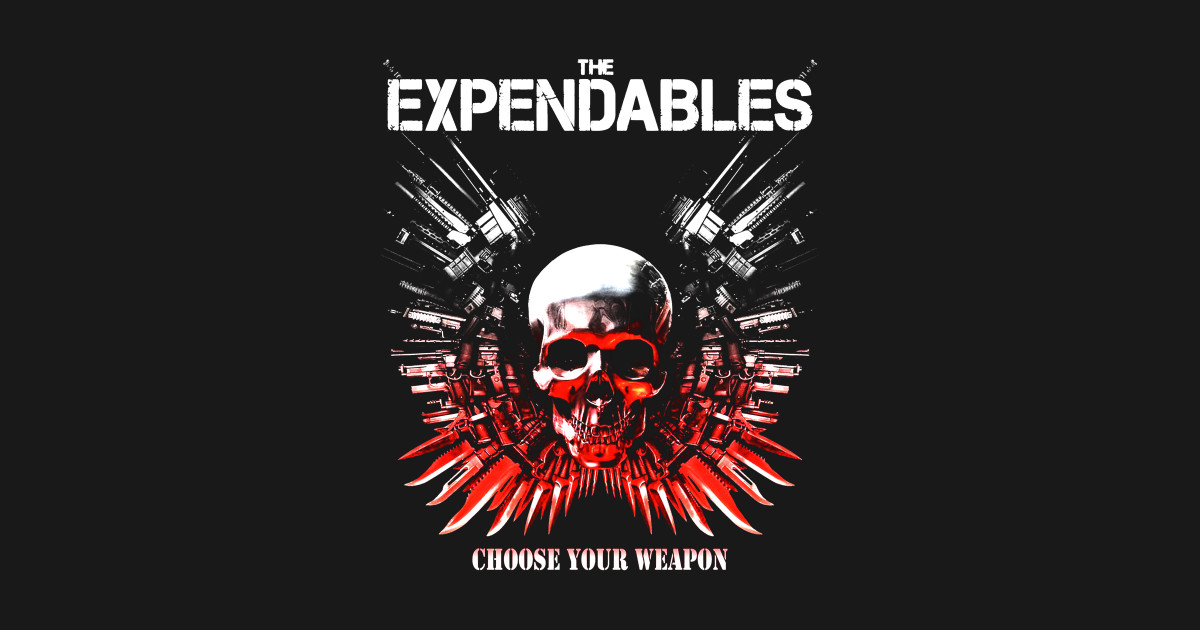 The Expendables The Expendables Movie Sticker Teepublic