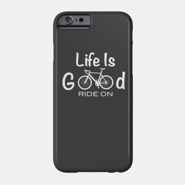 f2b0db87 Life Is Good Ride On T-shirt Premium Bicycle - Bicycle - Phone Case ...