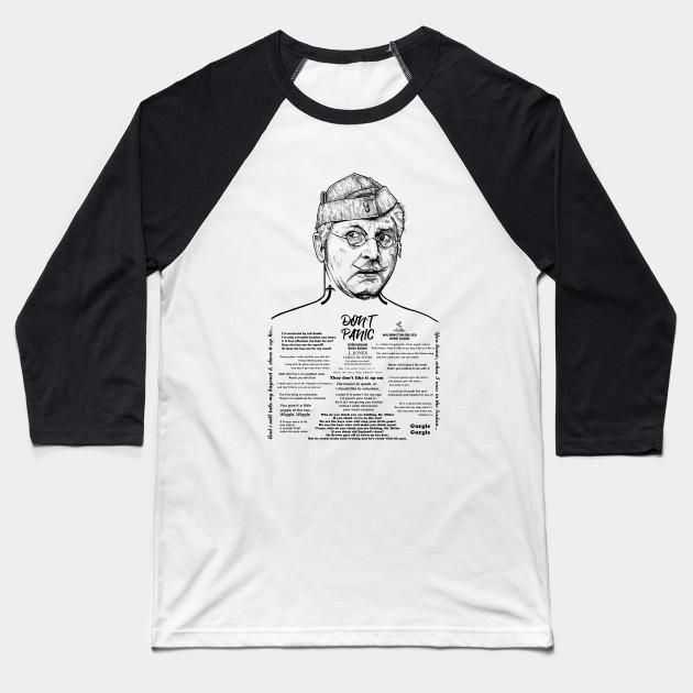 fe1971a6 Dad's Army - Corporal Jones - Dads Army - Baseball T-Shirt   TeePublic