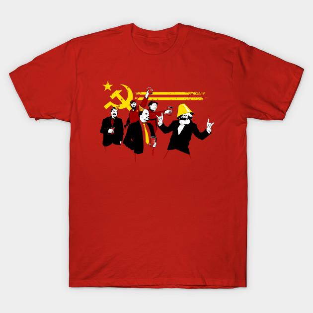 b4fc66a6 The Communist Party (original) - Communist - T-Shirt | TeePublic