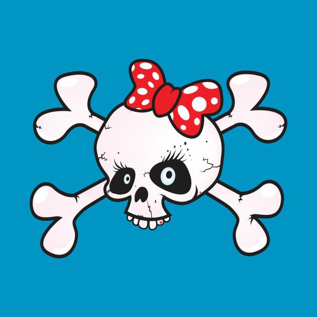 girl power skull