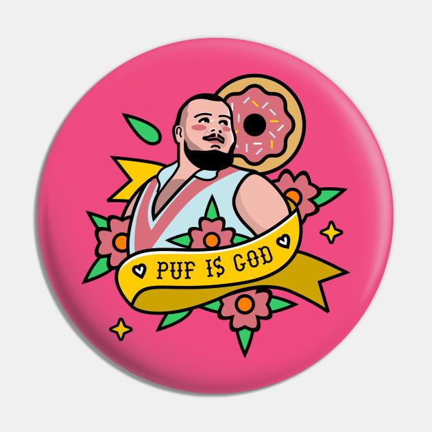Puf is God Tattoo