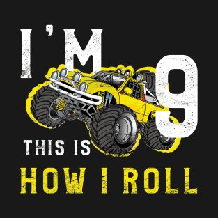 Main Tag 9 Years Old Birthday Gift T Shirt