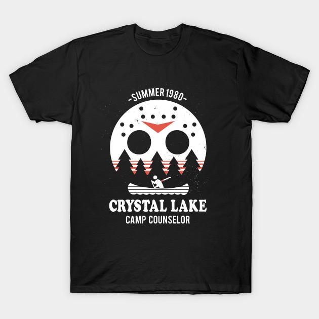6b744f223 Camp Crystal Lake Counselor - Friday The 13th - T-Shirt | TeePublic