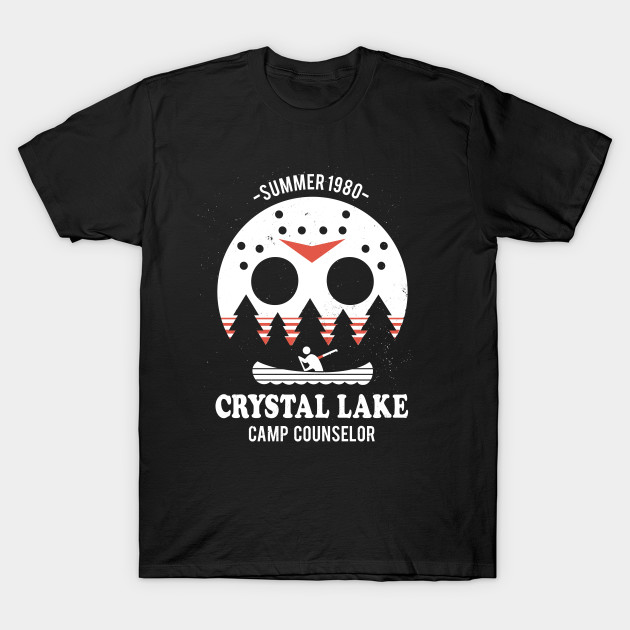 Camp Crystal Lake Counselor T-Shirt-TOZ