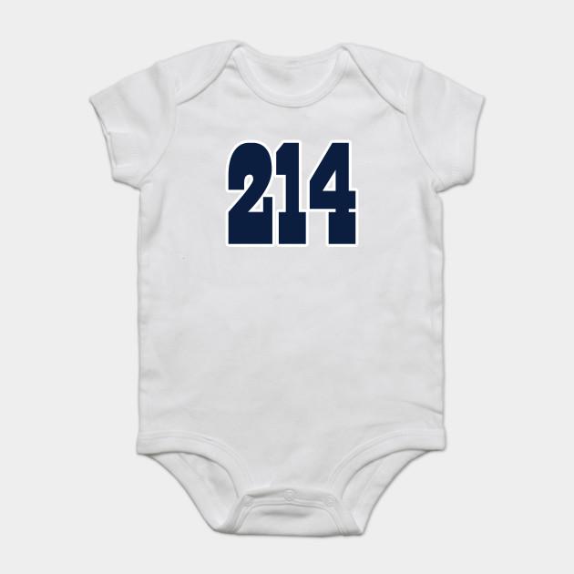 0e331a2d6fb Dallas LYFE the 214!!! - Dallas Cowboys - Onesie | TeePublic