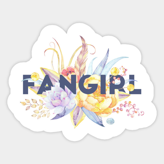 Floral FANGIRL