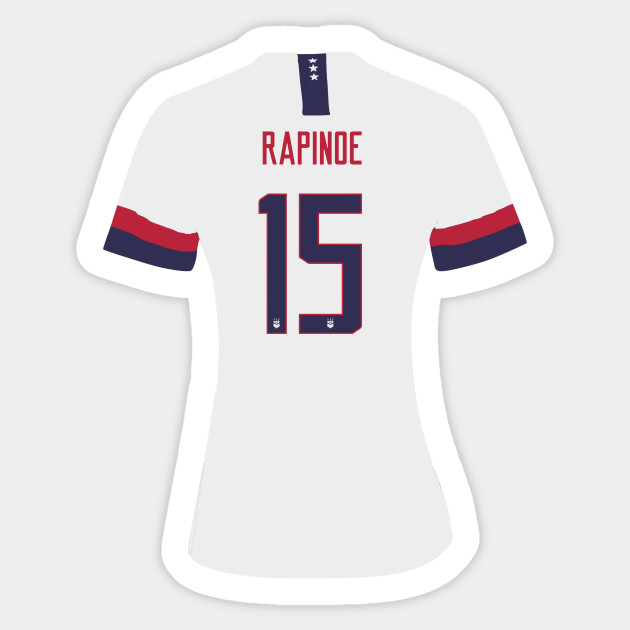 new style 86275 28c50 Official rapinoe jersey