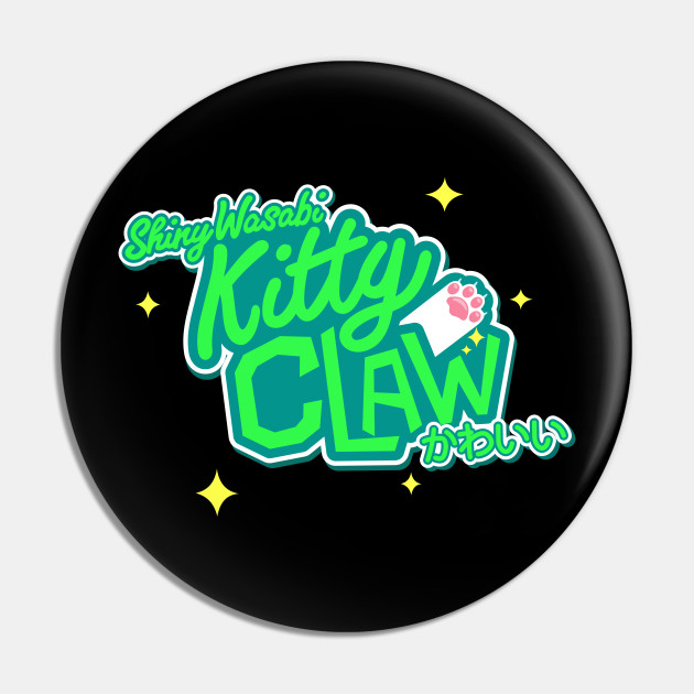 Shiny Wasabi Kitty Claw