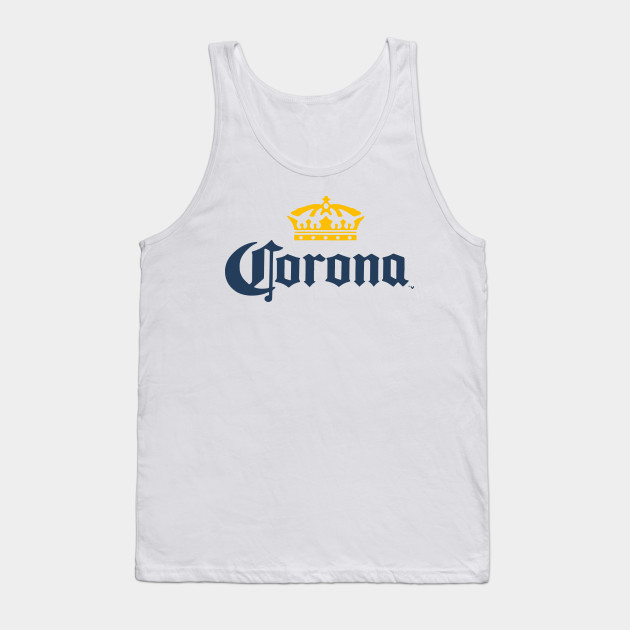 37be0b62c6dd22 Corona Extra Men s Beer Logo White Pick Your Size Medium Beer T-Shirts Tank  Top