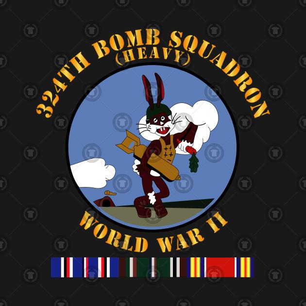 324th Bomb Squadron - WWII w EU SVC