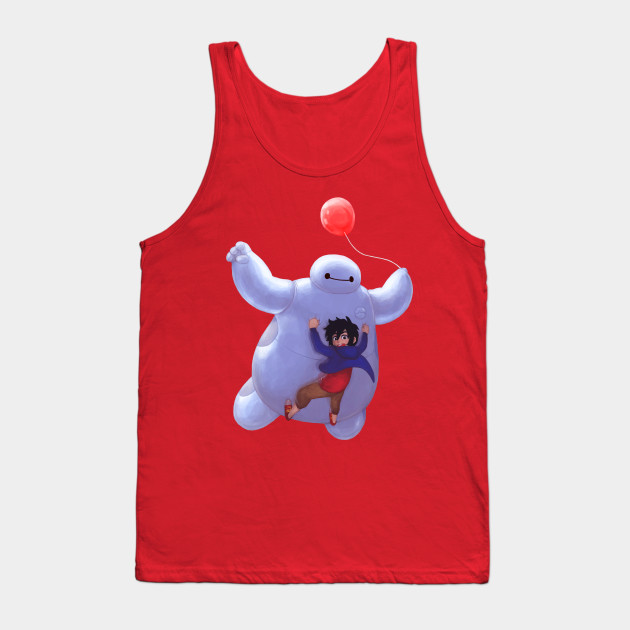 ebc6c201d Come fly with me - Baymax - Tank Top | TeePublic