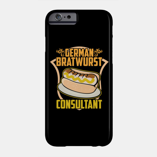 German Bratwurst Consultant Funny Food Consult Sausage Meat Beef Foodies
