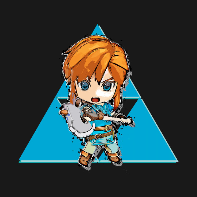 Chibi Link Breath of the Wild - Axe