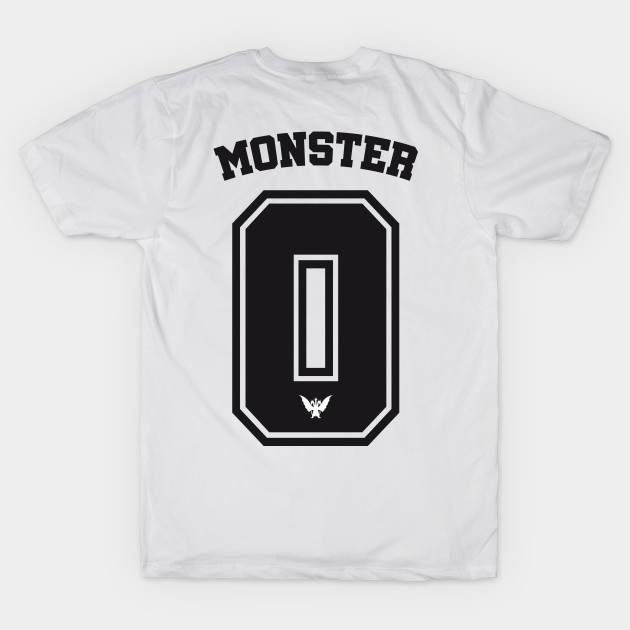 9286aa9e6 Monster Zero – football-style shirt (black) - King Ghidorah - T ...