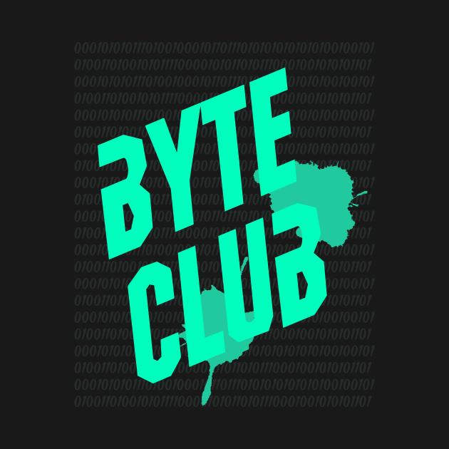 Byte Club Fighting Parody Computer Programming Hacking