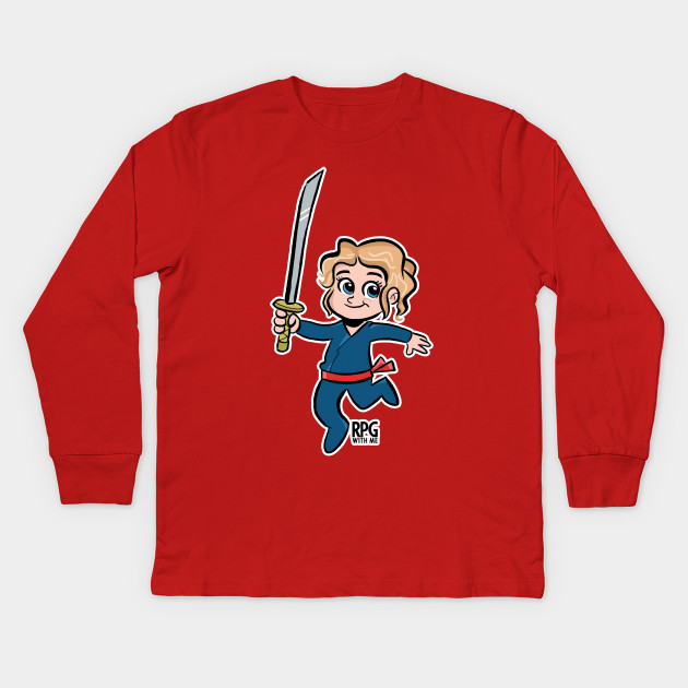 1b6788175 Mike - RPG with ME! - Role Playing Podcast - Kids Long Sleeve T ...