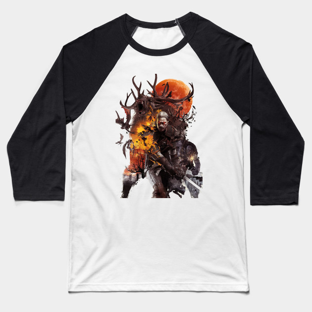 The Witcher - Geralt Baseball T-Shirt