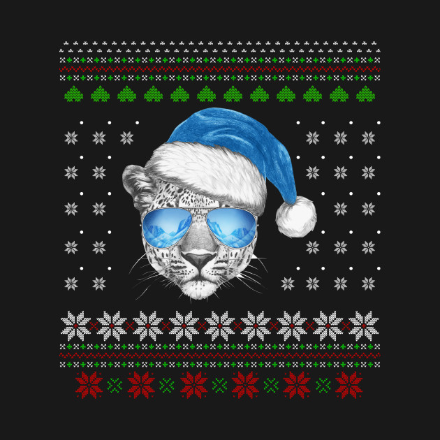 29bac200287a Merry Christmas With Leopard Sweatshirt Merry Christmas With Leopard  Sweatshirt
