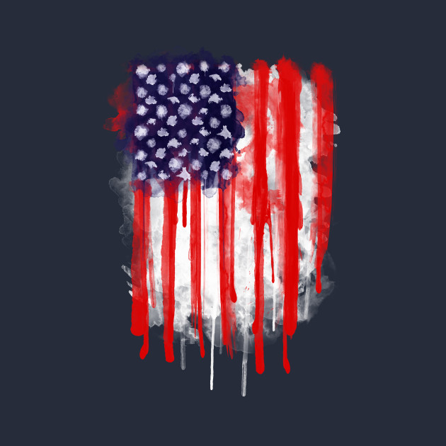 American Spatter Flag