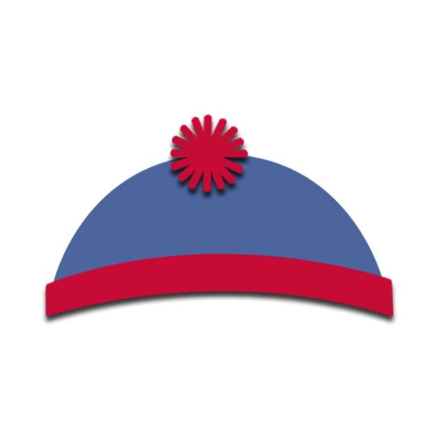 South Park Hats Stan - Southpark - T-Shirt  098c8b11a08