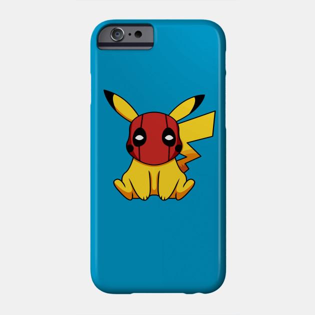 3feb8e23 Pikapool Pikachu Deadpool Mashup Pokemon Detective Pikachu Phone Case