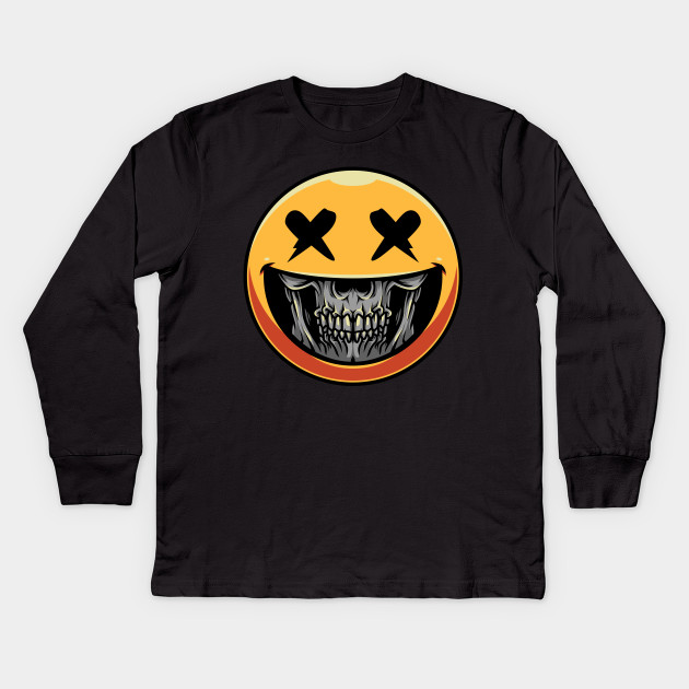 Emoji Smile Face Zombie Halloween What T-Shirt
