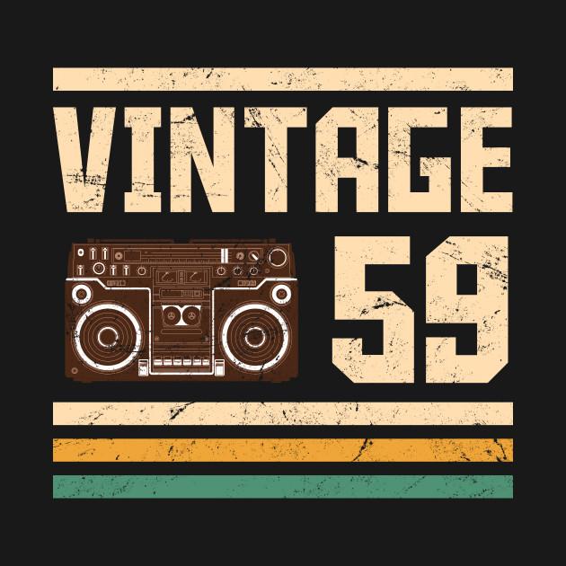 Vintage 1959  59 years birthday