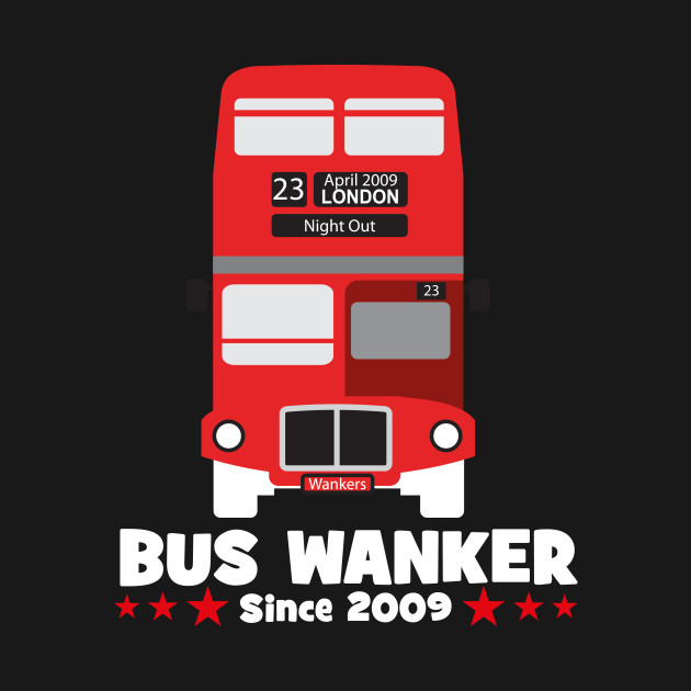 868b42ee bus wanker t-shirt - The Inbetweeners - Hoodie | TeePublic