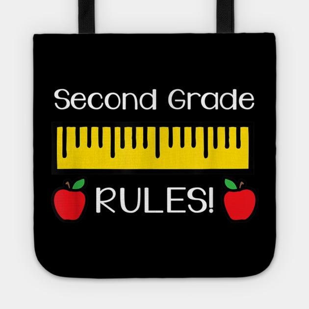 Second Grade Rules Shirt Cute Back to School Teacher Gift