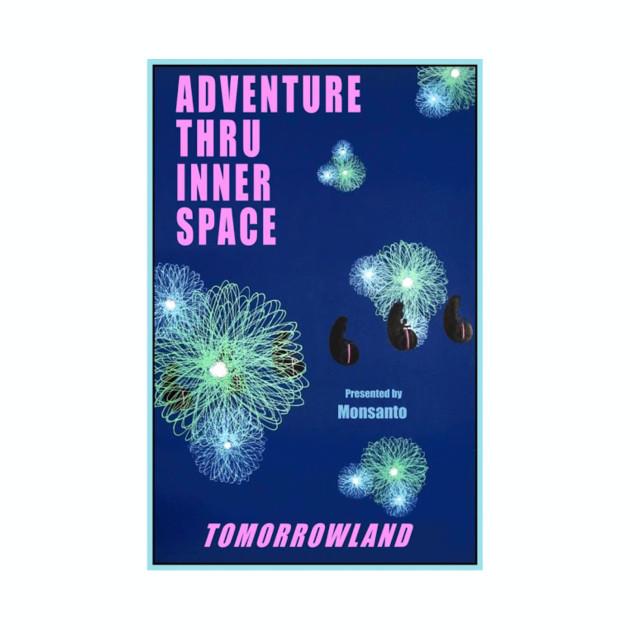 Adventure Thru Inner Space Attraction Poster