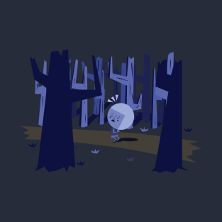 Lost in the woods t-shirts