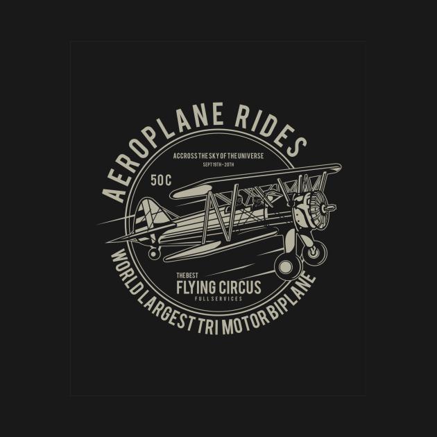 Aircraft Pilot BiPlane Flying Circus