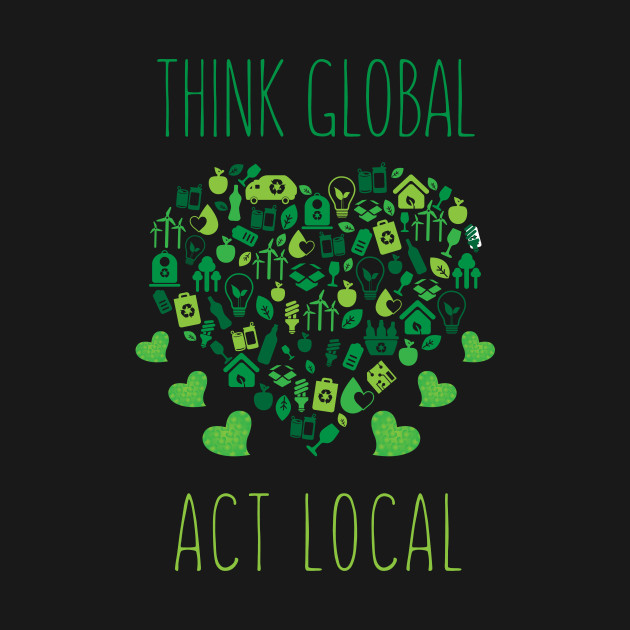 Image result for think global act local