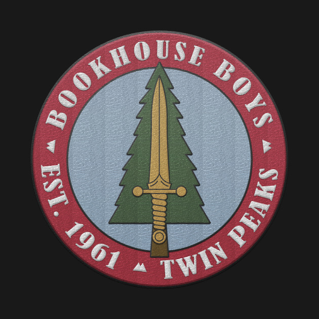 Twin Peaks Bookhouse Boys Embroidered