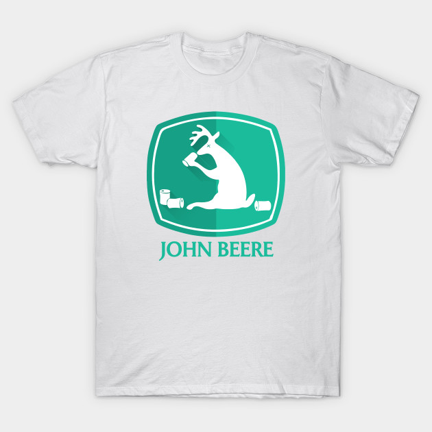 John deere parody john beere fun t shirt teepublic for John deere shirts for kids