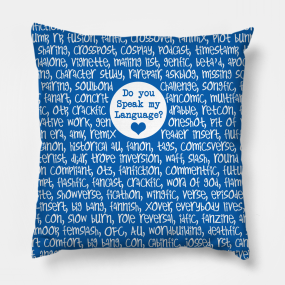 Fanfiction Pillows | TeePublic