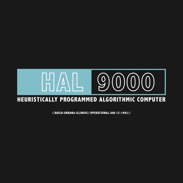 2001 A Space Odyssey Hal Computer Logo