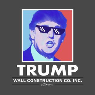 Trump Wall Construction Company Vintage t-shirts
