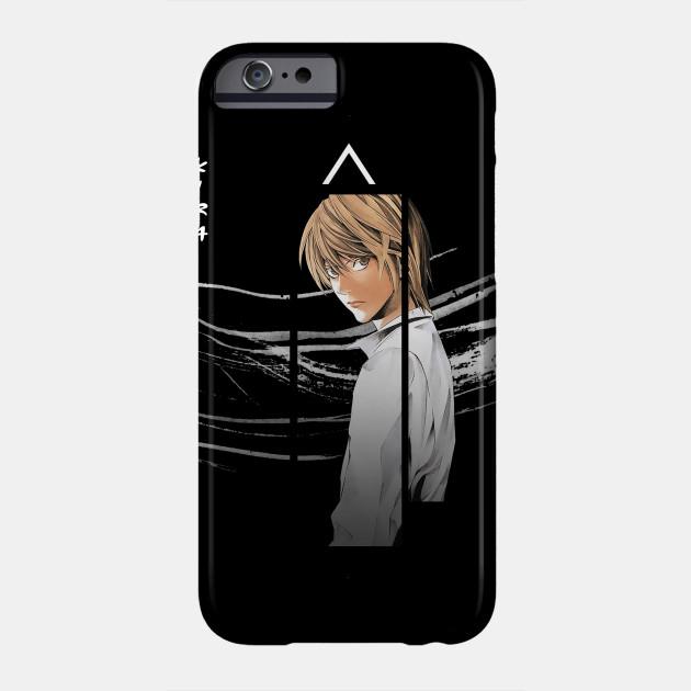 Yagami Light Ryuk Death Note iphone case