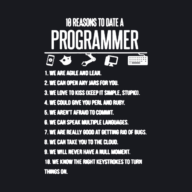 10 Reason To Date A Programmer