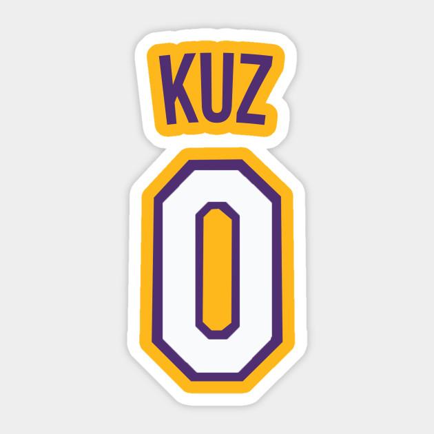 fc3f1adfabb Kyle Kuzma  KUZ  Nickname Jersey - Los Angeles Lakers - Nba ...