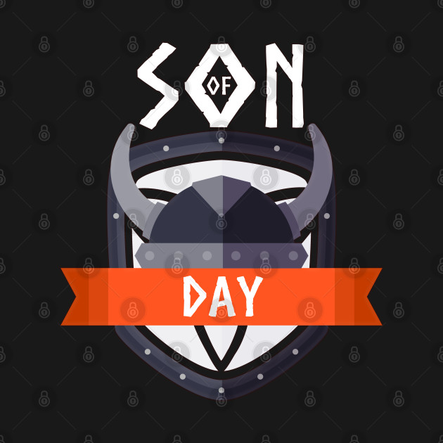Son of DAY T-Shirt for Norse Valhalla and Thor lovers